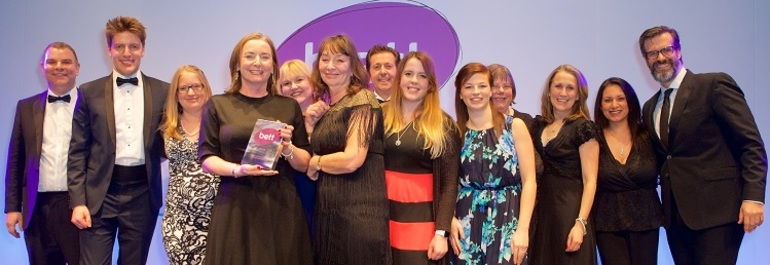 BlueSky scoops Bett Award for Leadership and Management Solutions